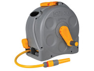 Hoselock 2-in-1 Compact Hose Reel + 25m of Starter Hose