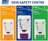 Deb Gritty Foam 3 Step Skin Protection Centre Small