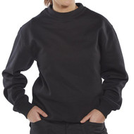Click Long Sleeved Polycotton Sweatshirt