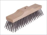 Broom Head 6 Row Wire Brush