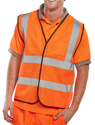 Standard Hi-Vis Waistcoat/Vest Orange