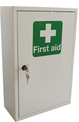 Single Door Metal Lockable First Aid Wall Cabinet