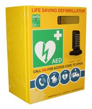 Click Mild Steel Defibrillator Cabinet With Digi Lock & Electrics (Large)