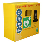 Click Mild Steel Defibrillator Cabinet With Digi Lock & Electrics (Medium)
