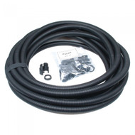 Black Polypropylene Flexible Conduit Contractor Pack