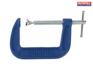 Faithfull Medium Duty 'G' Clamps