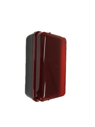 LED Security Amenity Bulkhead with Red Diffuser