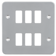Metal Clad Grid Face Plate For Grid System