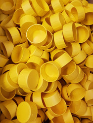 Yellow Plastic Scaffold End Caps (Bags Of 200)