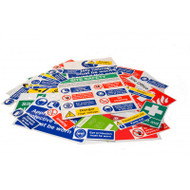 43pc Site Sign Pack - Selection B