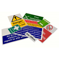 Site Sign Pack - Selection C