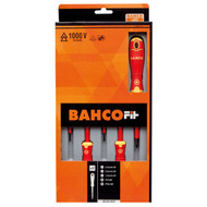 Bahco Fit 5pc VDE Screwdriver Set