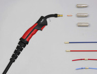 SWP M15 Air Cooled 4 Metre Mig Torch Set