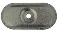 82 x 40mm Galvanised Oval Stress Plates (Per 100)