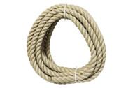 24mm Polyhemp 3 Strand Rope - 10m Coil