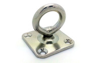 6mm A2 Stainless Steel Swivel Eye Plates (Pack Of 2)
