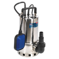Sealey Submersible Stainless Water Pump Automatic Dirty Water
