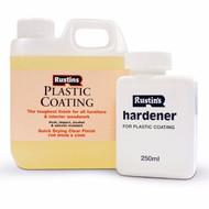 Rustin Plastic Coating & Hardener Gloss 1l