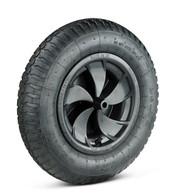 Walsall Wheelbarrows Universal Pneumatic Wheel - Black