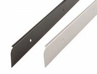 Aluminium Worktop Trim End Caps (Pack Of 10)