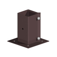 Epoxy Brown Bolt Down Post Support - Bolt Type (Each)