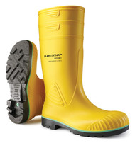 Dunlop Acifort Heavy Duty Safety Wellington Yellow (Per Pair)