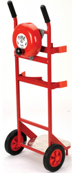 Mobile Fire Point Trolley With Bell Attached