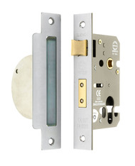 63mm CE Euro Profile Mortice Sashlock (Case Only)