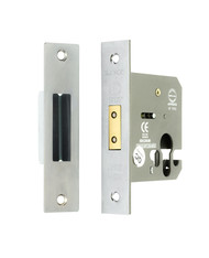 63mm Euro Profile Mortice Deadlock (Case Only)