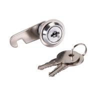Nickel Plated Keyed Cam Lock (Each)