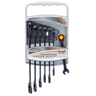 Draper  7pc Metric Ratcheting Combination Spanner Set
