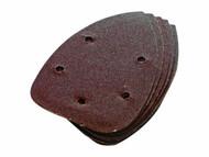 Silverline Hook & Loop Detail Sander Sheets 140mm (10pk)