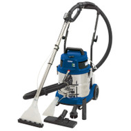 Draper 20L 1500W 230V Wet and Dry Shampoo/Vacuum Cleaner (X-DEMO)