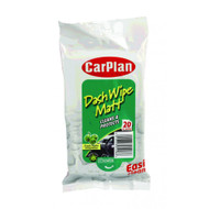 CarPlan Dash Wipe - Matt Finish (20 X-Large Wipes)