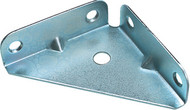 50 x 50 mm Corner Bracket Gusset Zinc (Per 10)