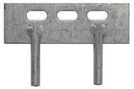 """150mm (6"""") Two Pin Gravel Board Cleats (Each)"""