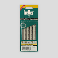 Heller 105mm HCS Jigsaw Blades For Wood (Per Pack Of 5 Blades)