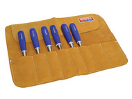 8 Pocket Leather Chisel Roll 33 x 47cm
