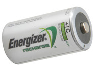 Energizer C Cell Rechargeable Batteries 2500 mAh Pack of 2