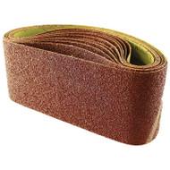 Abracs 100 x 610mm Aluminium Oxide Sanding Belts (Per 10 Belts)