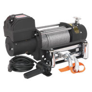 Sealey Self Recovery Winch 5450kg (12000lb) Line Pull 12V