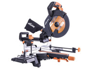 Evolution R255SMS+ Pro Multi-Material Sliding Mitre Saw 255mm