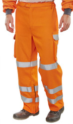 Arc Compliant GO/RT Orange Cotton Trouser
