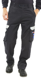 Arc Compliant Navy Trousers