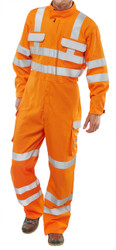 Orange Arc Compliant RIS Coveralls