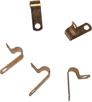 Bare Copper P Clips (Pack Of 50)
