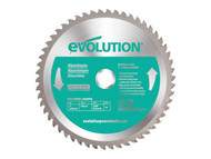 Evolution Aluminium Cutting Circular Saw Blade 180 x 2 x 20mm x 54T