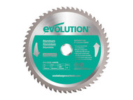 Evolution Aluminium Cutting Circular Saw Blade 230 x 2.4 x 25.4mm x 80T