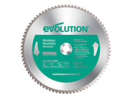 Evolution Aluminium Cutting Circular Saw Blade 355 x 25.4mm x 80T
