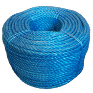 8mm x 220 Metre Blue Polypropylene Rope